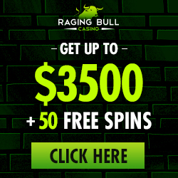 Raging Bull USD | 350% Bonus | $50 Free Chip