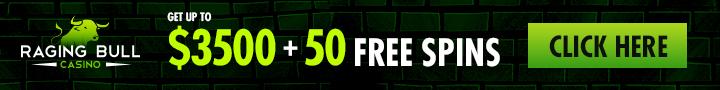 Raging Bull AU | 200% Bonus | AU$50 Free Chip